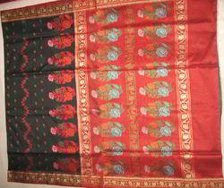 Banarasi Handloom Pure Cotton Silk Saree
