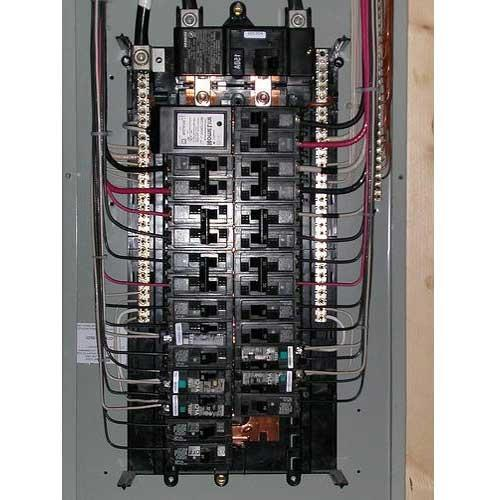200 service panel wiring diagram steel pole building open