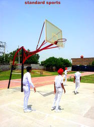 Basket Ball Pole With 16 Mm Fiber Glass