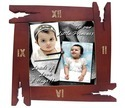 Festival Wooden Frame Wall Clock, For Home