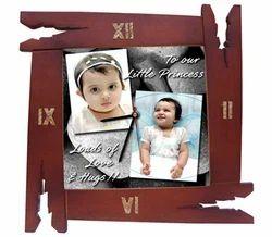 Wooden Frame Wall Clock