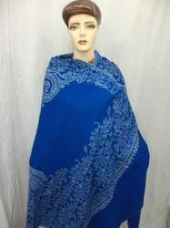 Pure Pashmina Cashmere With Designer Border Shawl