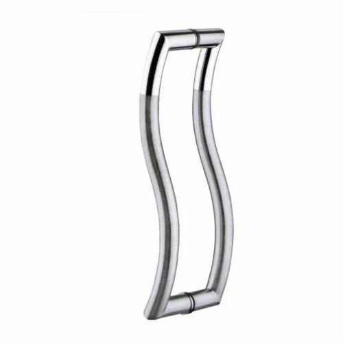 S Type Glass Door Handle Glass Door Handle Akshar Marg Rajkot
