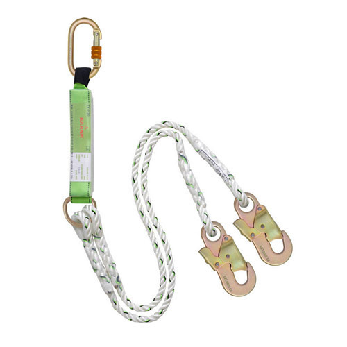 Energy Absorbing Forked Lanyard
