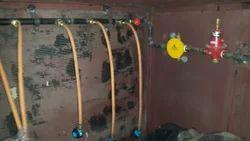 Gas Bank Manifold Installation