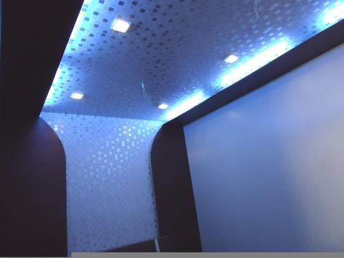 Modern Pvc False Ceiling Panel With Concealed Light