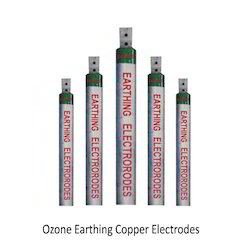 Ozone Earthing Copper Electrodes