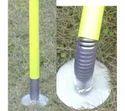 Spring Base Pole With Circular Base