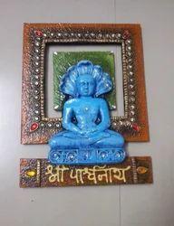 God Parshwanathji Frame Handicraft