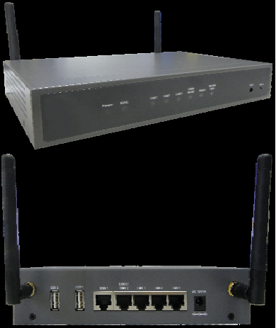 Load Balance VPN Router 3G Backup 2WAN + 3LAN + WiFi + 2 USB