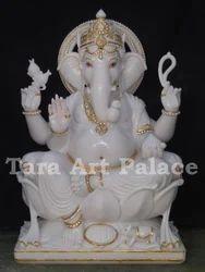 Marble Vinayak Statue