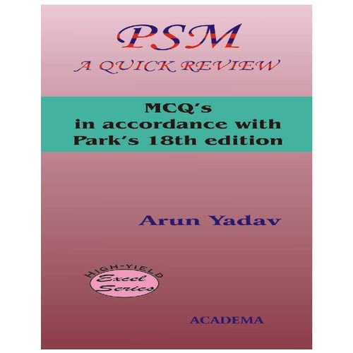 PSM A Quick Review Books - View Specifications & Details of Medical