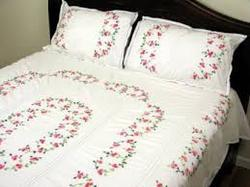 Marvelous Embroidered Bed Sheets