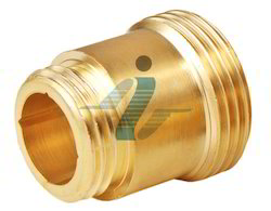 Brass Round Turn Component