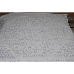 Indian Applique Cutwork Hand Made Bed Sheet