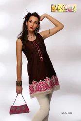 Attractive Designer Party Wear Short Kurta Tunic