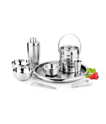 Corporate Gifting Stainless Steel Bar Set