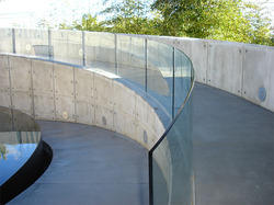 Curved Glass Railing