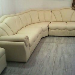 Attractive Leather Corner Sofa Sets