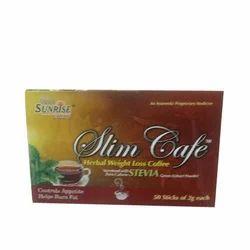 Organic Slim Cafe Tea, for Commercial