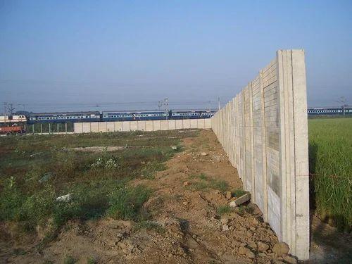 High Boundary Wall