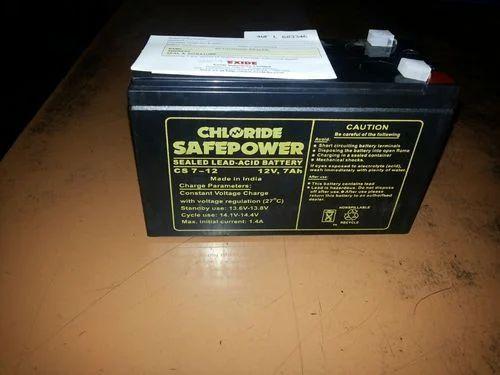 Exide Black Chloride Safe Power Battery 12 V Rs 950