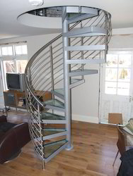 Spiral Stair Case Stainless Steel