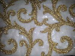 Full Sequin Embroidered Fabric