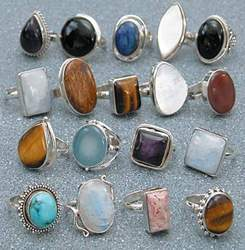 Fashion Stone Rings