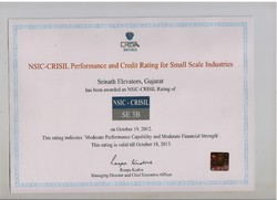 CRISIL Rating Certificate
