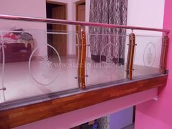 ... , steel + glass staircase , ss charupadi , and customized steel