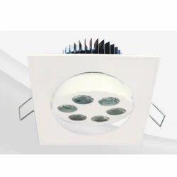 8W Power Spot LED Round