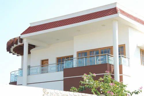 Glass Door Balcony Design