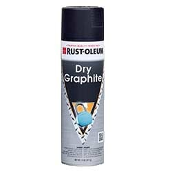 Rust Oleum Dry Graphite Lubricants Spray