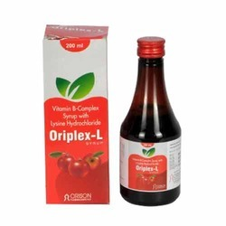 Vitamin B-Complex Syrup With Lysine