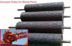 Conveyor Pulley for Mining Plants