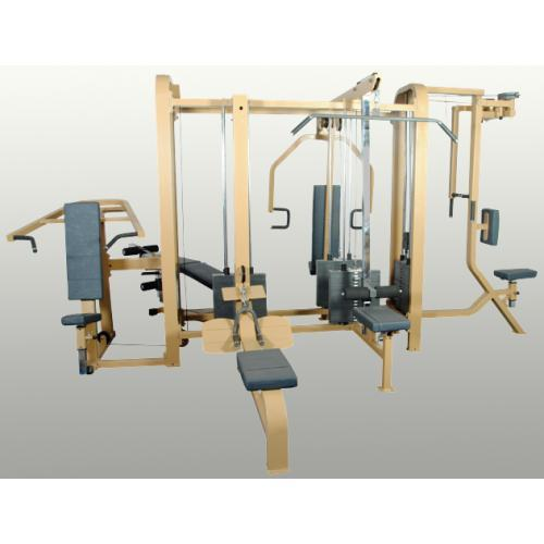 Gym Equipment Vadodara: 6 Station Multi-Gym Manufacturer From