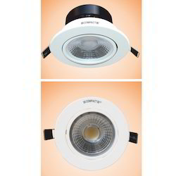 10W Electronic L.E.D. DriSolitaire Cob LED Round (with Lens)