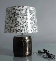 Barrel Shape Decorative Lamp