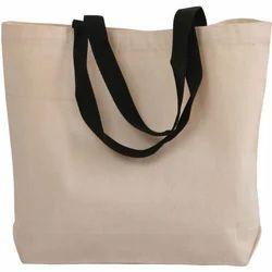 Norquest Brands Natural Cotton Canvas Tote Bag, Size/Dimension: 15.5 X 12.5 + 4 Bg