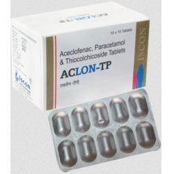 Aclon TP Tablet ( Acelofenac Para Serra Rabe Thioco )