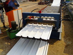Metal Roof Sheet Forming Line Machine