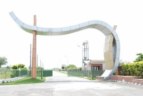 Acp Sheet Main Gate Acp Sheet Colony Main Gate