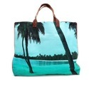 Printed Beach Bag