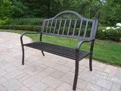 Modern Iron Bench