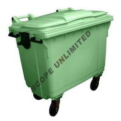 Flat Top Waste Dustbin for Industries
