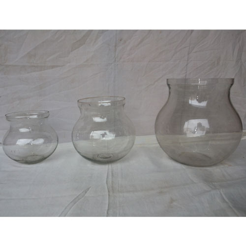 Glass Matki Decorative Glass Product Narol Ahmedabad Sona