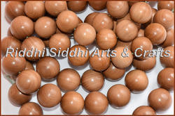 Indian Old Sandalwood Carved Beads