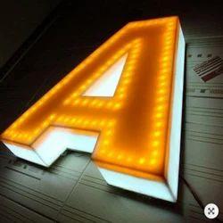 RGB LED Letter