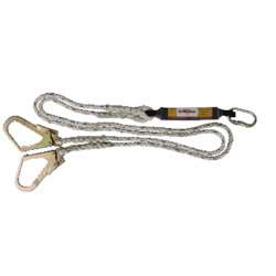 Forked Lanyards With Energy/Shock Absorber (Twisted Rope/PP/Nylon Lanyard)